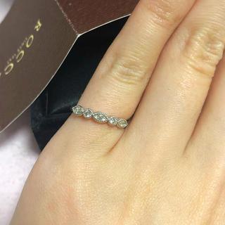 スタージュエリー(STAR JEWELRY)のROCCA ダイヤモンド ピンキーリング(リング(指輪))