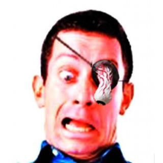 新品 ドロドロ 目玉 眼帯 ホラー 仮装 コスプレ ハロウィン パーティー(アクセサリー)