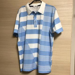 ヒールクリーク(Heal Creek)の【新品】ヒールクリーク ゴルフ 半袖ポロシャツ HEAL CREAK 50 速乾(ウエア)