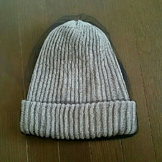 カシラ(CA4LA)のひとちゃん様専用  CA4LA4  カシラ チュール  ニット ニット帽  帽子(ニット帽/ビーニー)