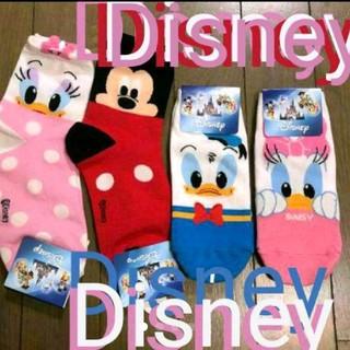 Disney - 靴下 Disneyソックス 海外購入 レディース 靴下