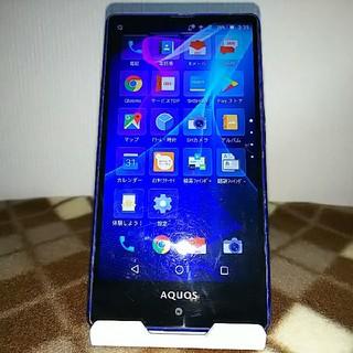 SHARP - AQUOS SERIE mini SHV33 ブルー