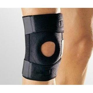 膝サポーター 左右兼用 ジョギング ウォーキング 登山 怪我防止 膝保護 簡単(トレーニング用品)