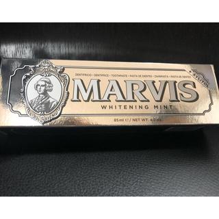 マービス(MARVIS)の【MARVIS】ホワイトニングミント 85ml × 1本 ※2019年3月購入(歯磨き粉)
