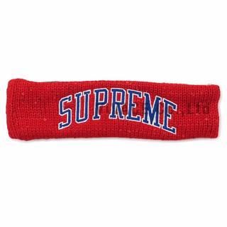 シュプリーム(Supreme)のNew Era Sequin Arc Logo Headband 赤(その他)