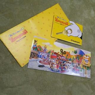 ディズニー(Disney)の【未使用】トゥーンタウン 記念パスポート(遊園地/テーマパーク)