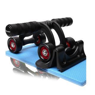腹筋ローラー アブホイール エクササイズウィル(レッド)(トレーニング用品)