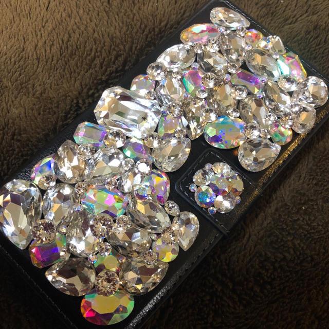 fendi iphone7 ケース メンズ | キラキラガラスビジュー スワロフスキーアイフォンケース カバーの通販 by デコショップ  雅|ラクマ