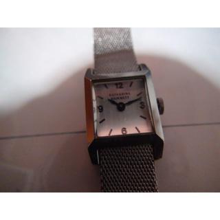 キャサリンハムネット(KATHARINE HAMNETT)のKATHARINE HAMNETT腕時計 レディース クォーツ製 電池式 稼動品(腕時計)