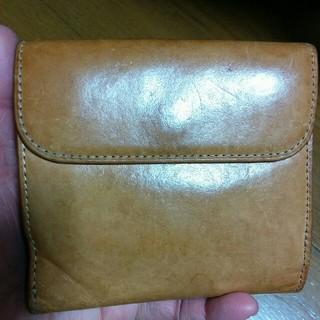 MUJI (無印良品) - 無印良品 二つ折り財布