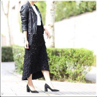 Drawer - 【美品】she Tokyo スカート オディール ブラック 36♡