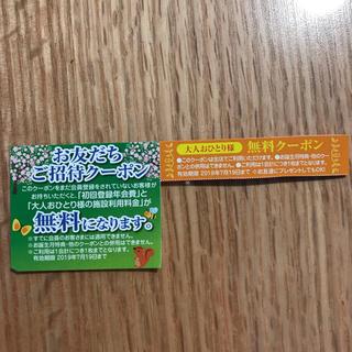 ファンタジーキッズリゾート 大人ひとり無料クーポン(遊園地/テーマパーク)