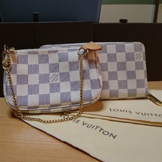 LOUIS VUITTON - アズール&ポーチ   ルイヴィトン