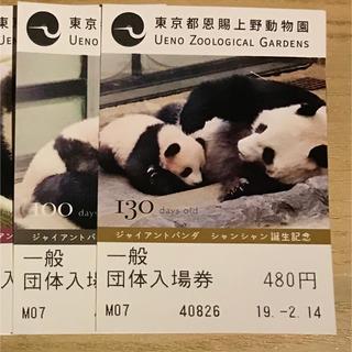上野動物園 2枚セット 絵柄選定不可(動物園)