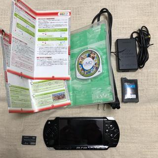 ソニー(SONY)の【ジャンク】【ソフト付き】PSP-2000 (携帯用ゲーム本体)