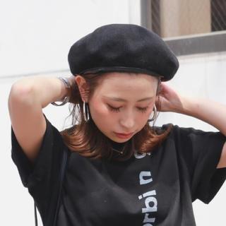 アングリッド(Ungrid)の✾Ungrid✾サマーベレー帽(ハンチング/ベレー帽)
