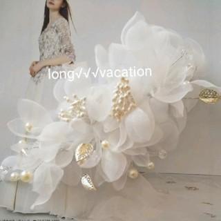 シフォンフラワーロマンチックヘッドドレス(ヘッドドレス/ドレス)
