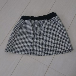 千鳥格子スカート 100㎝(スカート)