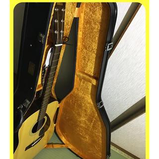ヤマハ(ヤマハ)のヤマハ ギター ケース付きの美品‼️(アコースティックギター)
