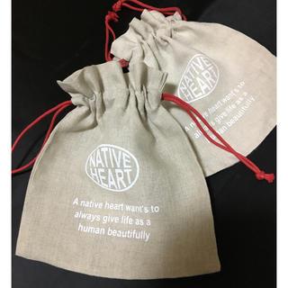 フランフラン(Francfranc)の巾着袋 コップ袋 2枚セット(弁当用品)