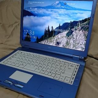 NEC - ノートパソコン SSD搭載