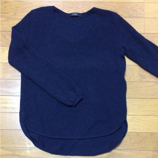 スコットクラブ(SCOT CLUB)のLASUD ラシュッド (ヤマダヤ) ウール混 Vネックセーター ニット(ニット/セーター)