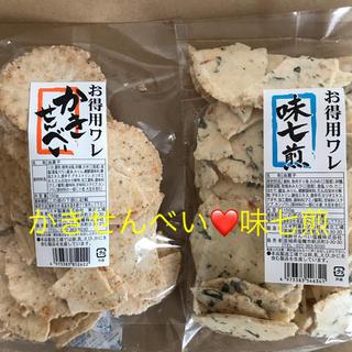 海鮮せんべい塩竈 かきせんべい❤味七煎