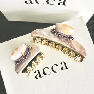 acca - 新品未使用 ♡ acca ♡ 25周年 限定 クリップ 中小セット