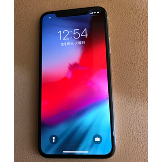 Apple - 美品 iPhonex 256gb シルバー ドコモ simフリー
