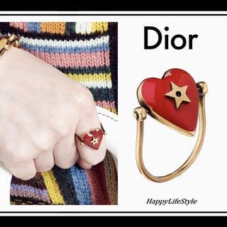 ディオール(Dior)の新品★Dioramour ハート リング◇Dior(リング(指輪))