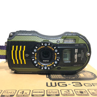 PENTAX - PENTAX 防水デジタルカメラ PENTAX WG-3GPS