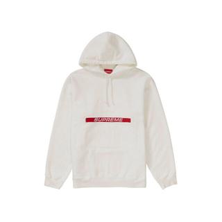 Supreme - Supreme Zip Pouch Hooded Sweatshirt 白