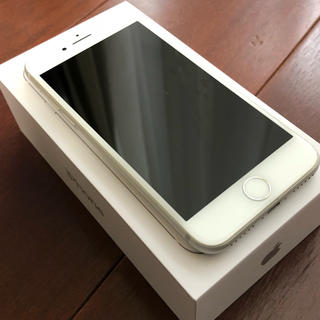iPhone - 【美品】iPhone8 silver 64GB SIMフリー