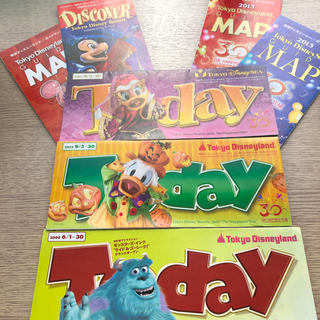 ディズニー(Disney)の画像全てセット ディズニーシー ディズニーランド トゥデイ(印刷物)