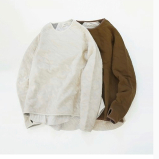 TODAYFUL - TODAYFUL | Quilting Layered Sweat カーキ