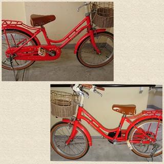大阪市 ブリヂストン ハッチ HACCI 子供自転車 18インチ(自転車)