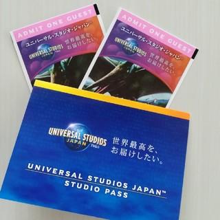 USJ - ユニバーサルスタジオ チケット2枚