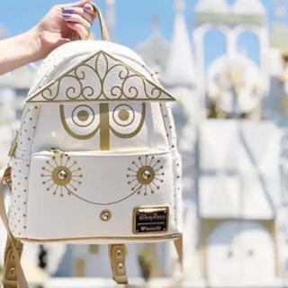 Disney - 新品タグ付き Loungefly ディズニー イッツアスモールワールド