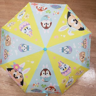 香港ディズニー💐ダッフィーフレンズイースター折り畳み傘