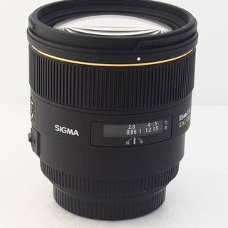 シグマ(SIGMA)の【大口径単焦点/キャノン用】 SIGMA 85mm F1.4 DG HSM (レンズ(単焦点))