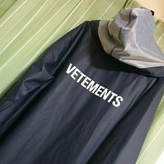 Vetements♥ raincoat 17 aw 「正規品」 (レインコート)