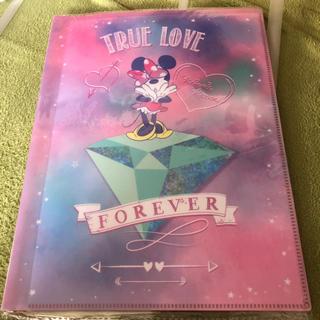 ディズニー(Disney)のミニーちゃん 10ポケットファイル(ファイル/バインダー)