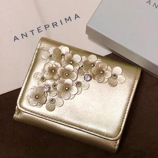 アンテプリマ(ANTEPRIMA)の【極美品】アンテプリマ 三つ折り 財布 マッツェット(財布)