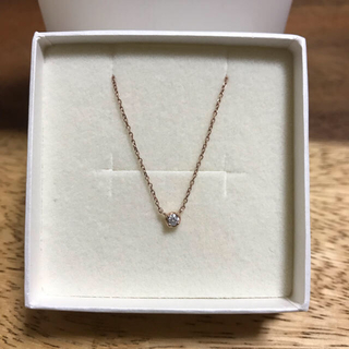 カナルヨンドシー(canal4℃)の4℃ ダイヤモンド ネックレス(ネックレス)