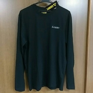 ジェリー(GERRY)のLサイズ  GERRY ブラック ロンT(Tシャツ/カットソー(七分/長袖))