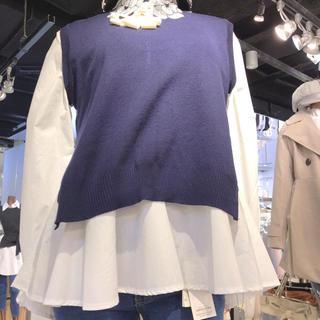 ナルシス(Narcissus)のニット付きシャツ(シャツ/ブラウス(長袖/七分))