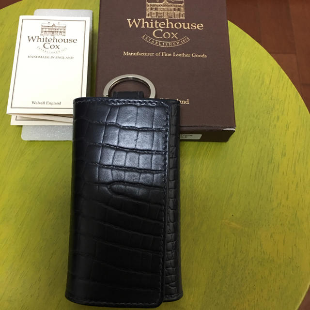 WHITEHOUSE COX(ホワイトハウスコックス)のホワイトハウスコックス  キーケース 未使用❗️ メンズのファッション小物(キーケース)の商品写真