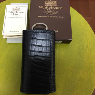 ホワイトハウスコックス(WHITEHOUSE COX)のホワイトハウスコックス  キーケース 未使用❗️(キーケース)