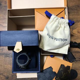 LOUIS VUITTON - ルイヴィトン タンブールホライゾン 美品 LOUIS VUITTON 腕時計