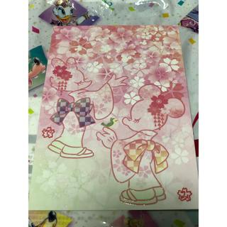 ディズニー(Disney)のSAKURA ポストカード(写真/ポストカード)